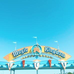 magic kingdom sign!
